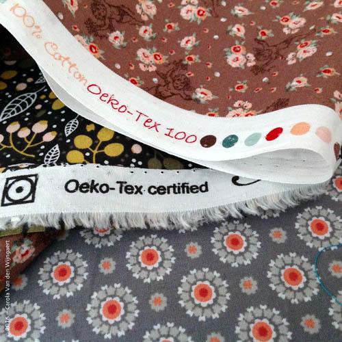 Stoffen met een Oeko-Tex label