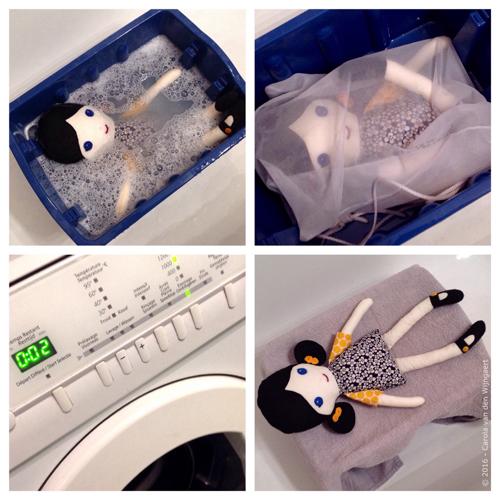 poppen wassen